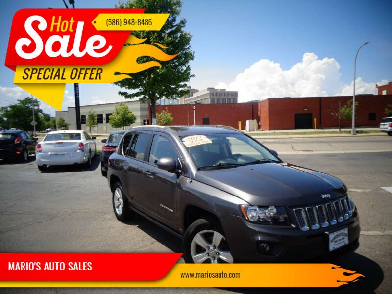 2017 Jeep Compass for sale at MARIO'S AUTO SALES in Mount Clemens MI