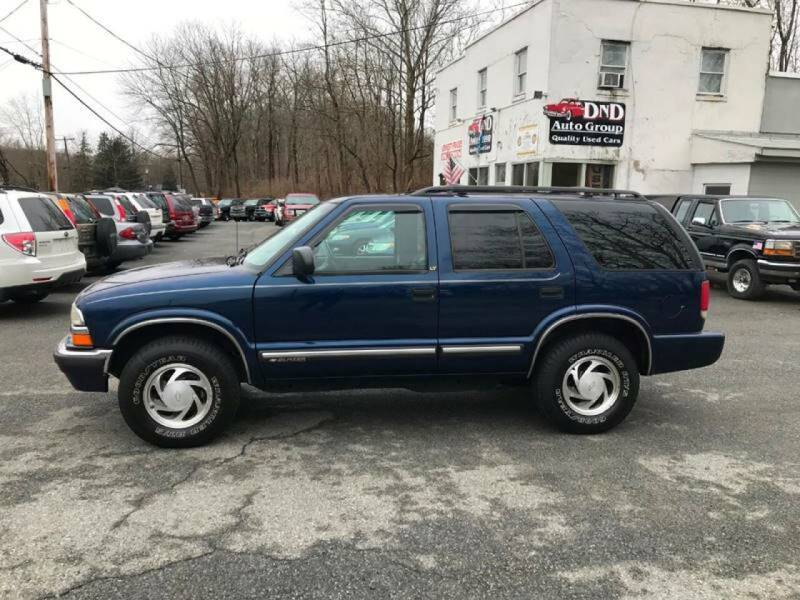 2001 Chevrolet Blazer for sale at DND AUTO GROUP in Belvidere NJ