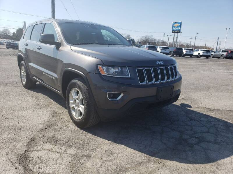 2014 Jeep Grand Cherokee for sale at GLOVECARS.COM LLC in Johnstown NY