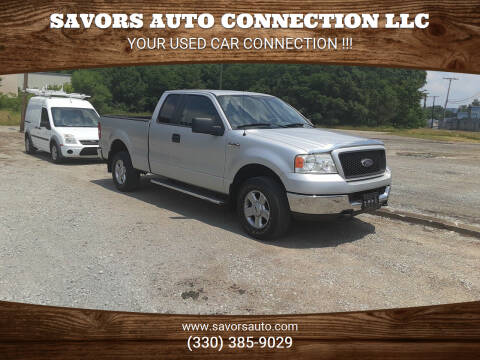 2005 Ford F-150 for sale at SAVORS AUTO CONNECTION LLC in East Liverpool OH