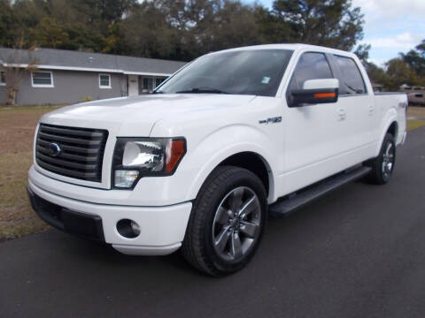 2012 Ford F-150 for sale at LANCASTER'S AUTO SALES INC in Fruitland Park FL