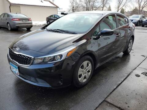 2017 Kia Forte for sale at MIDWEST CAR SEARCH in Fridley MN