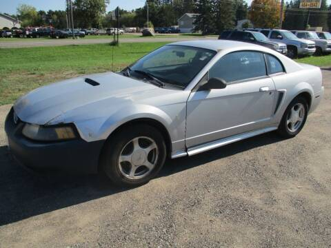 2002 Ford Mustang for sale at D & T AUTO INC in Columbus MN