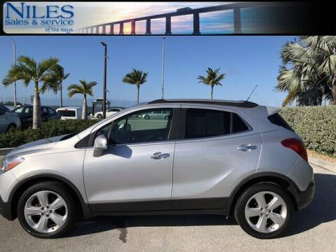 2016 Buick Encore for sale at Niles Sales and Service in Key West FL