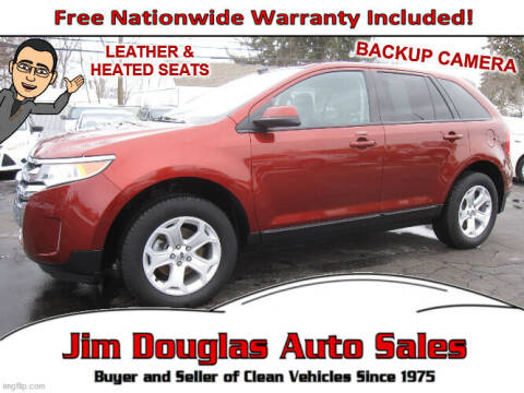 2014 Ford Edge for sale at Jim Douglas Auto Sales in Pontiac MI