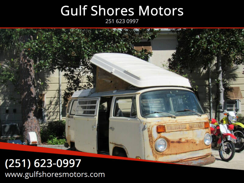 1972 Volkswagen Bus for sale at Gulf Shores Motors in Gulf Shores AL