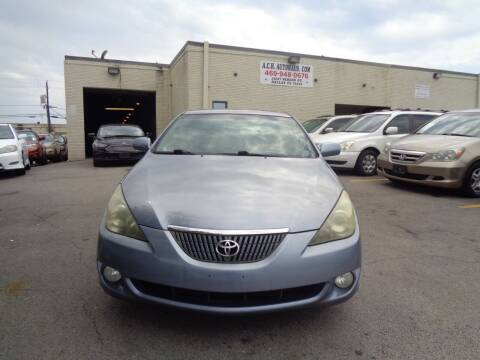 2006 Toyota Camry Solara for sale at ACH AutoHaus in Dallas TX