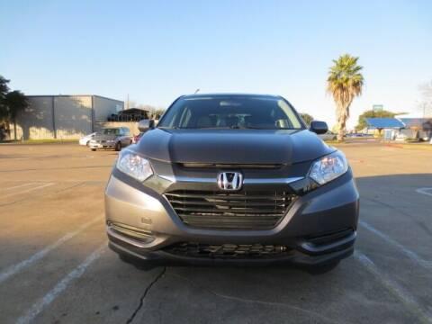 2016 Honda HR-V for sale at MOTORS OF TEXAS in Houston TX