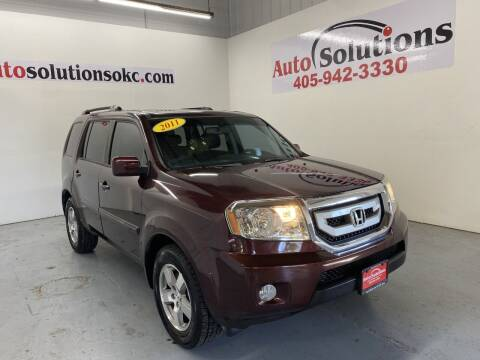2011 Honda Pilot for sale at Auto Solutions in Warr Acres OK