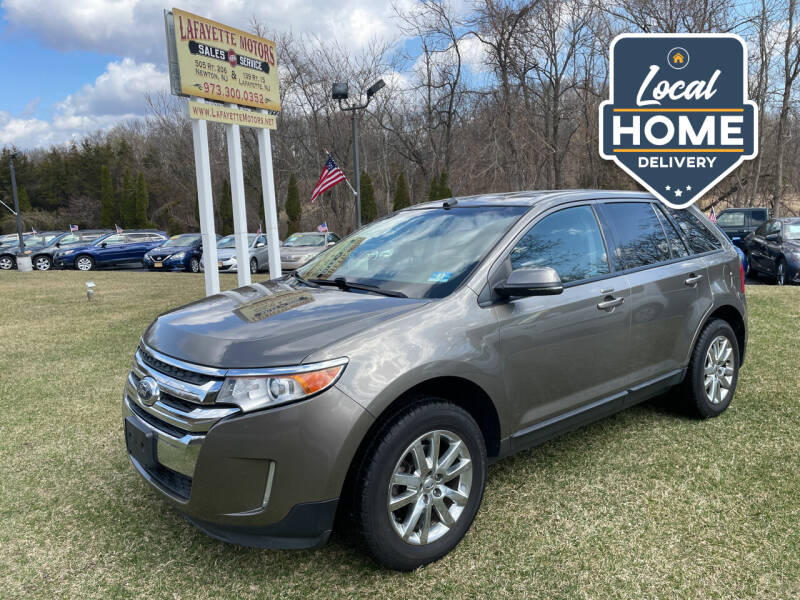 2013 Ford Edge for sale at Lafayette Motors 2 in Andover NJ
