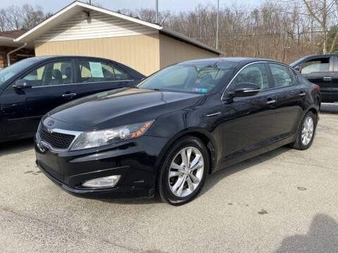 2012 Kia Optima for sale at Elite Motors in Uniontown PA