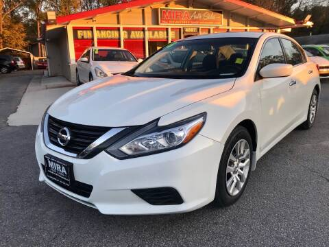 2018 Nissan Altima for sale at Mira Auto Sales in Raleigh NC