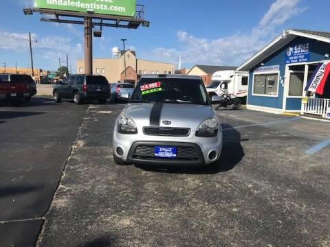 2012 Kia Soul for sale at EAGLE AUTO SALES in Lindale TX