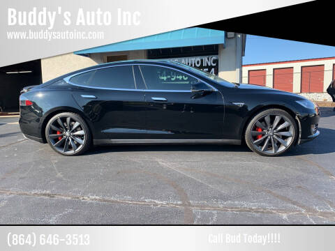 2014 Tesla Model S for sale at Buddy's Auto Inc in Pendleton, SC
