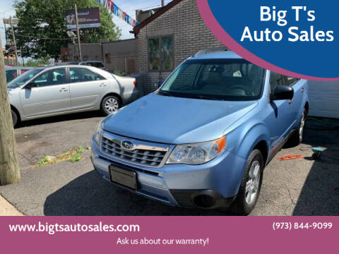 2011 Subaru Forester for sale at Big T's Auto Sales in Belleville NJ