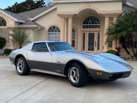 1974 Chevrolet Corvette for sale at Classic Car Deals in Cadillac MI