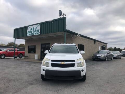 2006 Chevrolet Equinox for sale at B & J Auto Sales in Auburn KY