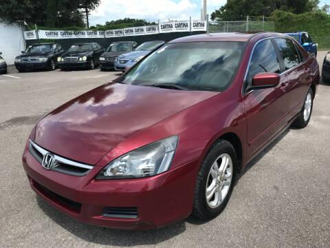 2006 Honda Accord for sale at Cartina in Tampa FL
