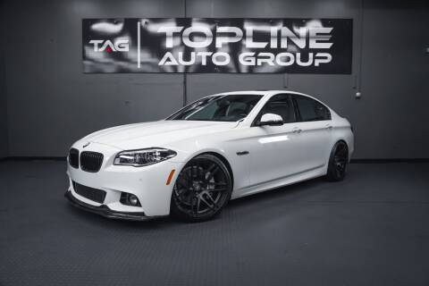 2015 BMW 5 Series for sale at TOPLINE AUTO GROUP in Kent WA