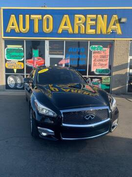 2015 Infiniti Q70L for sale at Auto Arena in Fairfield OH
