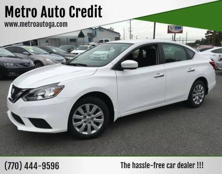 2016 Nissan Sentra for sale at Used Imports Auto - Metro Auto Credit in Smyrna GA