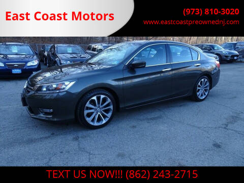 2013 Honda Accord for sale at East Coast Motors in Lake Hopatcong NJ