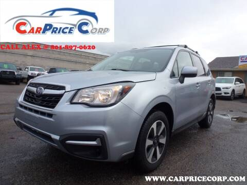 2018 Subaru Forester for sale at CarPrice Corp in Murray UT