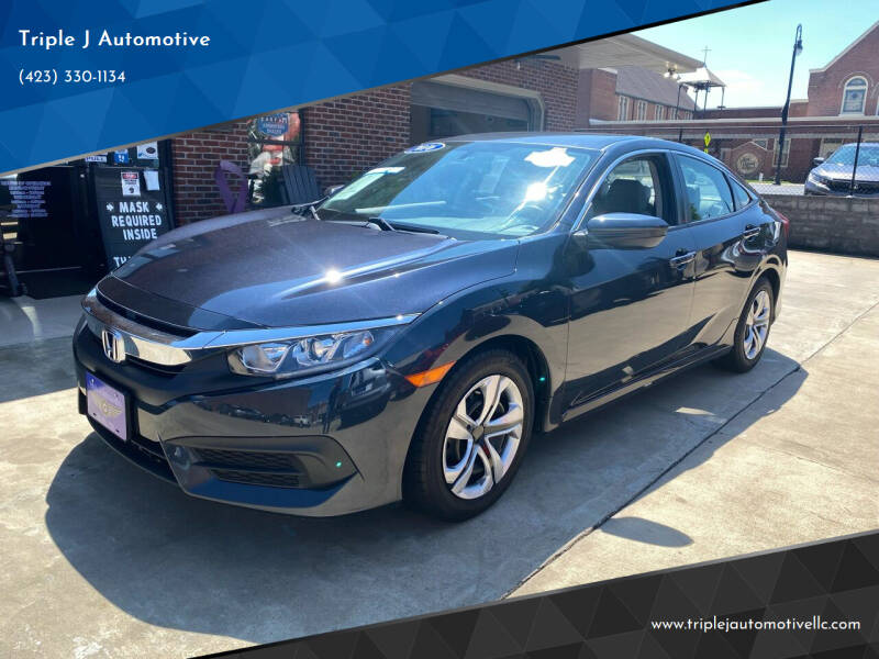 2016 Honda Civic for sale at Triple J Automotive in Erwin TN