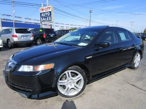 2006 Acura TL for sale at TRI CITY AUTO SALES LLC in Menasha WI