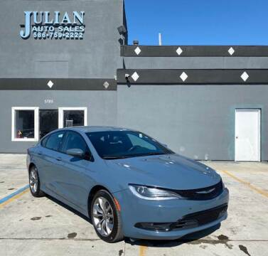 2015 Chrysler 200 for sale at Julian Auto Sales, Inc. in Warren MI