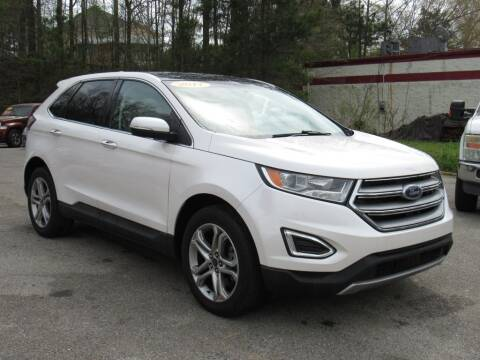 2017 Ford Edge for sale at Discount Auto Sales in Pell City AL