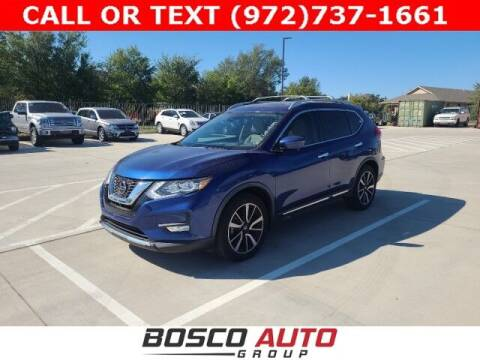 2018 Nissan Rogue for sale at Bosco Auto Group in Flower Mound TX