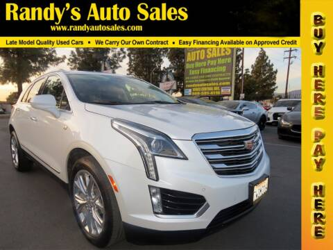 2017 Cadillac XT5 for sale at Randy's Auto Sales in Ontario CA