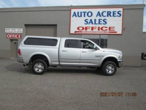 2014 RAM Ram Pickup 2500 for sale at Auto Acres in Billings MT