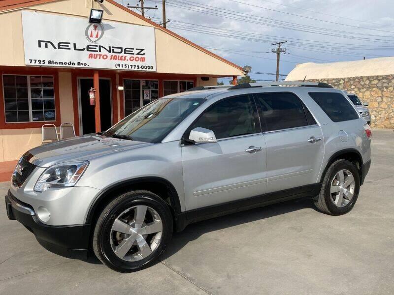 2012 GMC Acadia for sale in El Paso, TX
