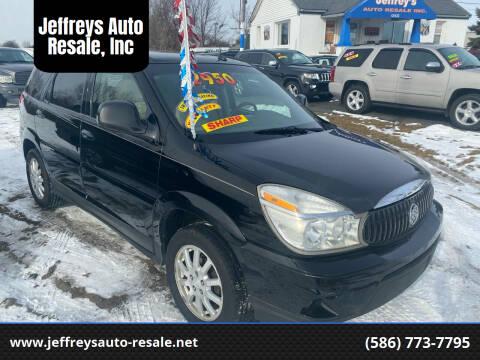 2007 Buick Rendezvous for sale at Jeffreys Auto Resale, Inc in Clinton Township MI
