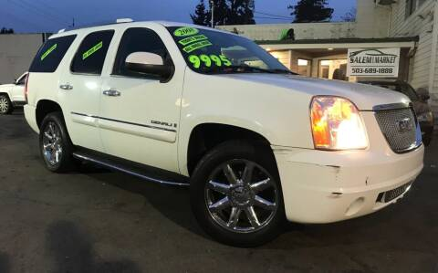 2008 GMC Yukon for sale at Salem Auto Market in Salem OR