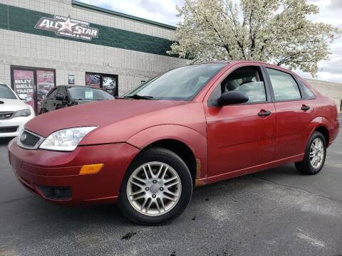 2005 Ford Focus for sale at All-Star Auto Brokers in Layton UT