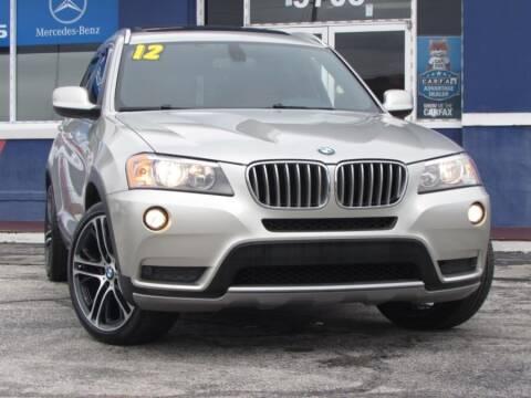 2012 BMW X3 for sale at VIP AUTO ENTERPRISE INC. in Orlando FL