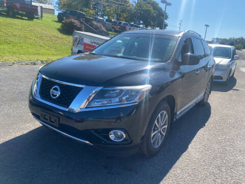 2014 Nissan Pathfinder for sale at Ball Pre-owned Auto in Terra Alta WV