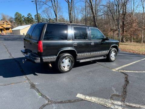 1999 Chevrolet Tahoe for sale at Classic Car Deals in Cadillac MI