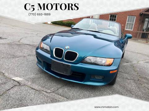 1997 BMW Z3 for sale at C5 Motors in Marietta GA