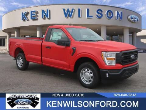 2021 Ford F-150 for sale at Ken Wilson Ford in Canton NC