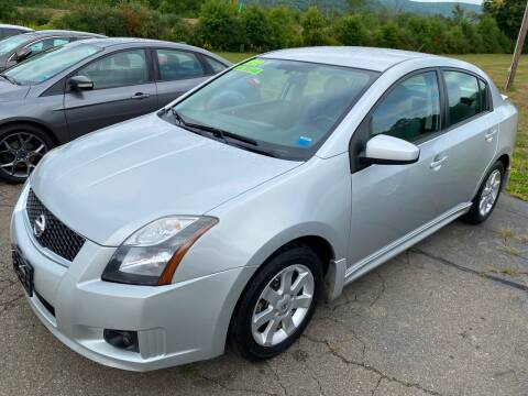 2012 Nissan Sentra for sale at Hillside Motors in Campbell NY