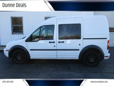 2012 Ford Transit Connect for sale at Dunne Deals in Crystal Lake IL