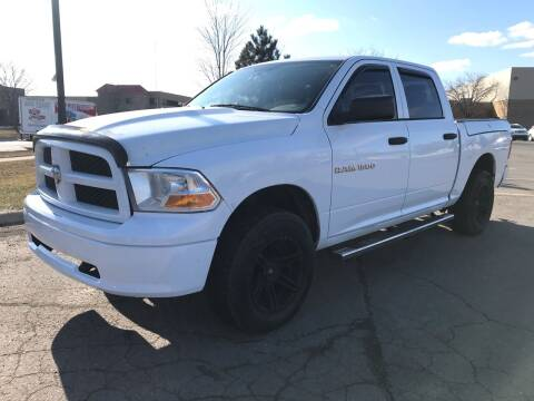 2012 RAM Ram Pickup 1500 for sale at A & R Auto Sale in Sterling Heights MI