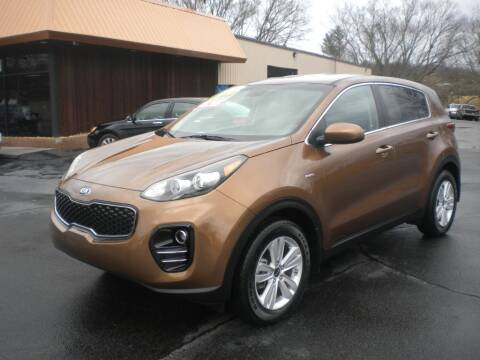 2018 Kia Sportage for sale at Houser & Son Auto Sales in Blountville TN