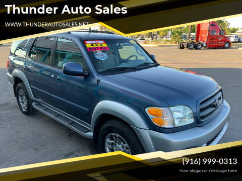 2003 Toyota Sequoia for sale at Thunder Auto Sales in Sacramento CA