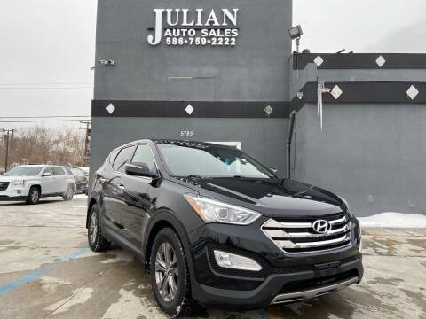 2013 Hyundai Santa Fe Sport for sale at Julian Auto Sales, Inc. in Warren MI