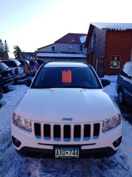 2011 Jeep Compass for sale at WB Auto Sales LLC in Barnum MN